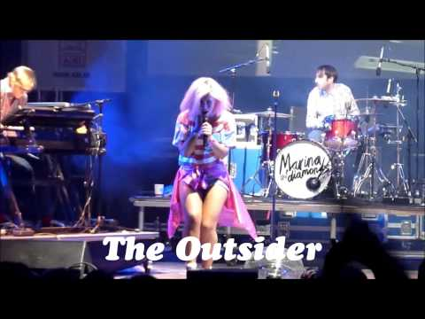 ♡ ''THE OUTSIDER''   MARINA AND THE DIAMONDS ♡