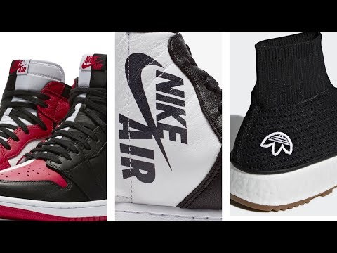 NEW adidas SOLAR Boost, Air Jordan 1 High OG, Top 3 and Chicago SNEAKERS and More on Heat