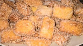 Быстрые пончики Лимонные подушечки Пончики простой рецепт.