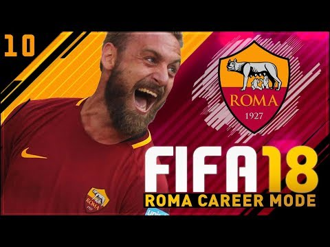 FIFA 18 Roma Career Mode Ep10 - FIRST ROME DERBY!!