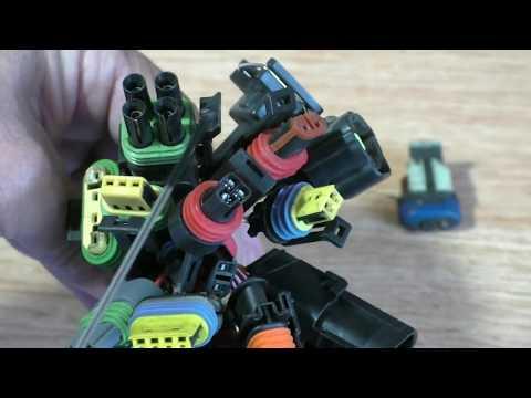 Колодка на датчик иномарки или ВАЗ ,своими руками. Полезный совет от автоэлектрика.