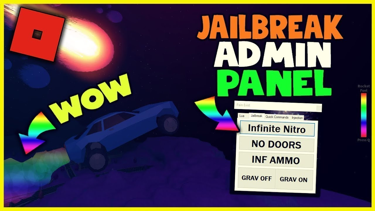 NEW ROBLOX JAILBREAK ADMIN PANEL HACK - PAIN EXIST OP EXPLOIT w/ LIMITED LUA! (WORKING) 07 April #1