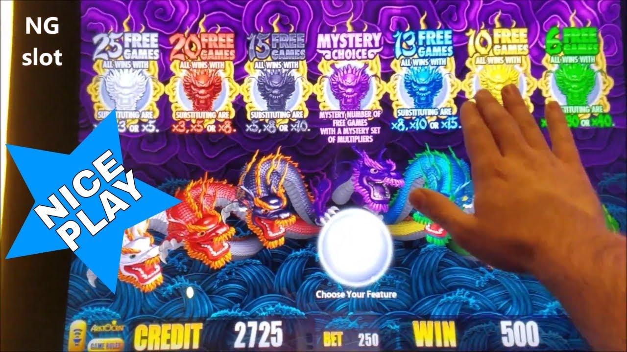 5 Dragon Slot Machine Free Play