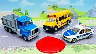 Мультики про машинки с игрушками Плеймобил - Куда он едет! Игрушечные видео смотреть онлайн