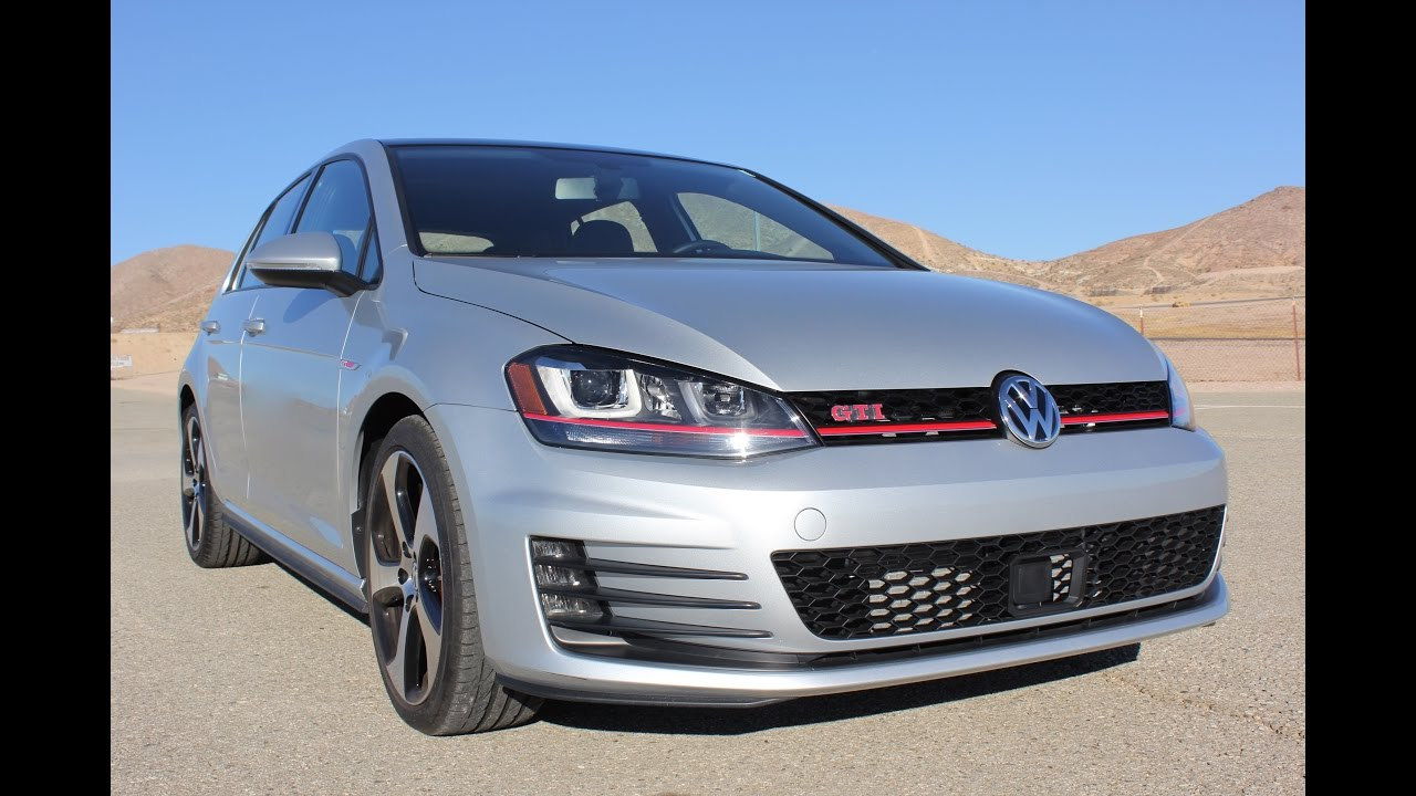 2017 Volkswagen Golf GTI SE WALKAROUND - YouTube