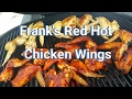 Frank's RedHot Chicken Wings - Primo XL 400 Grill Time!