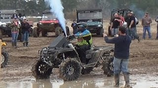 CAN-AMS ON JUICE!! RACES AND MUDDIN