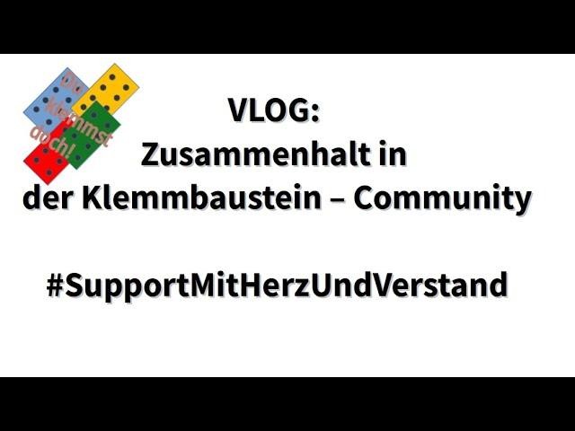 VLOG: Zusammenhalt in der Klemmbaustein - Community