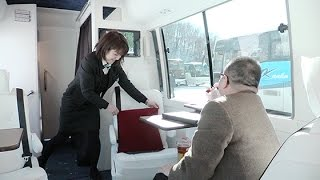 富裕層向けバス1日10万円から 札幌 (2016/02/03) 北海道新聞 thumbnail