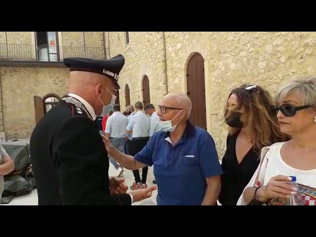 Canicatti', il Capitano dei Carabinieri Pacifico e Angelo Terrana al centro culturale [STUDIO 98]