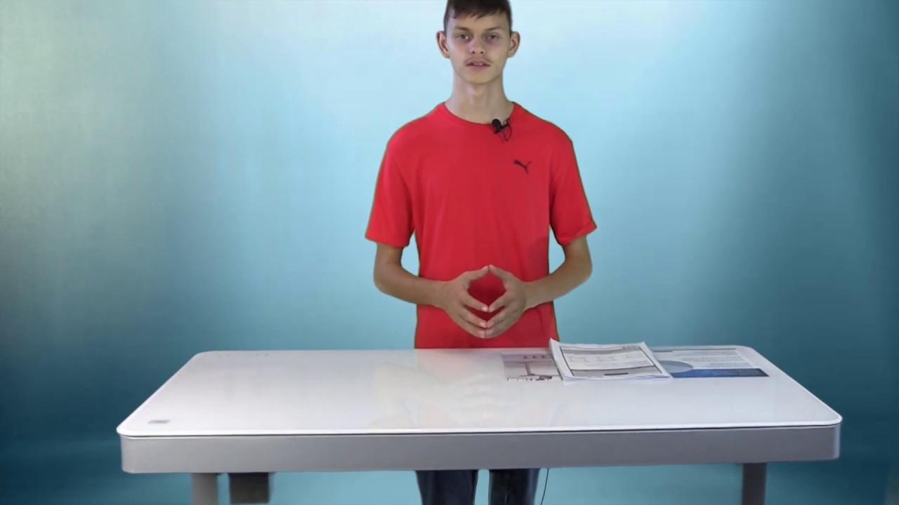 Tresanti Adjustable Height Desk Youtube