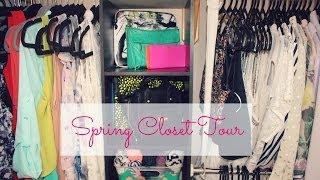 Spring Closet Tour 2014 ❀