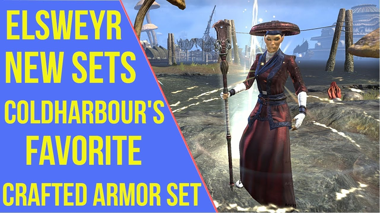 ESO Elsweyr New Sets - Coldharbour's Favorite | Elsweyr PTS