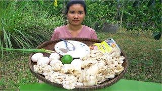 Fried mushrooms recipe eating delicious | Cooking mushrooms recipe | Natural Life