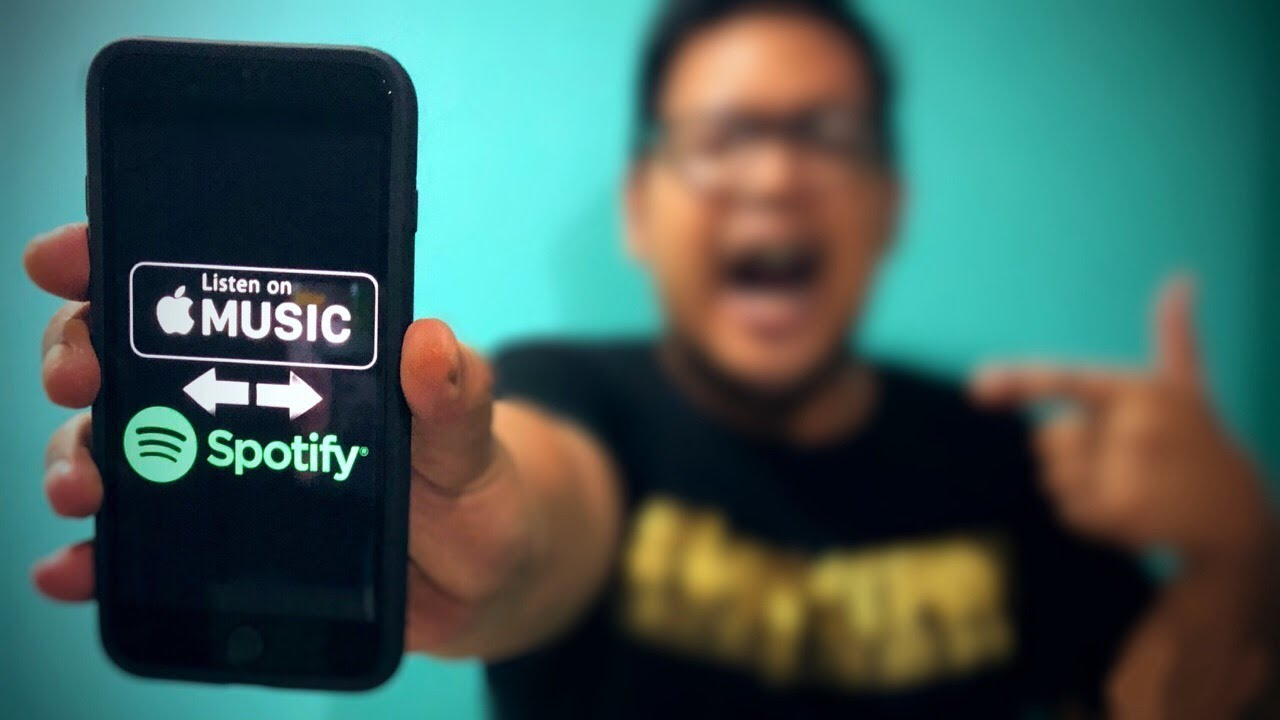 Move Your Playlists From Spotify To Apple Music iPhone & iPad