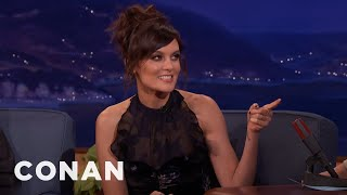 Frankie Shaw & Conan Went To The Same High School  - CONAN on TBS