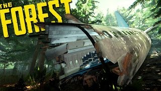 THE FOREST | CRASH LANDING & OUR BASE (The Forest Multiplayer) EP 1
