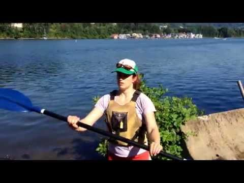 Intro to Kayaking - Lesson 1 - Paddle basics