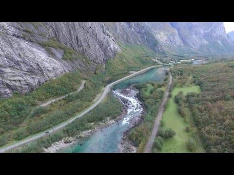 Rauma River - Romsdalen - Norway HD