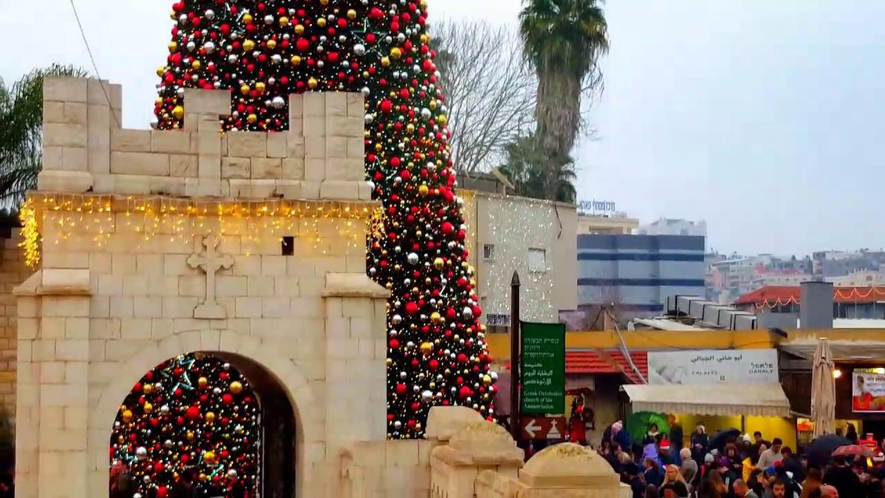 celebrating christmas in nazareth israel 241216 merry christmas everyone