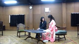 2012年3月15日(木)~20日(火・祝)青年座劇場で上演の「少女小説」稽...