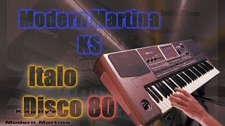 Modern Martina & KS - Don't go away (Minus)  (Korg Pa 900) ItaloDasco80
