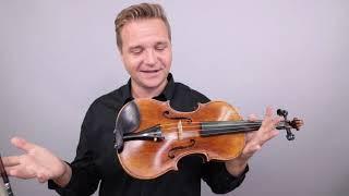 Alexandru Ozon Violin, Romania 2004, for Israel
