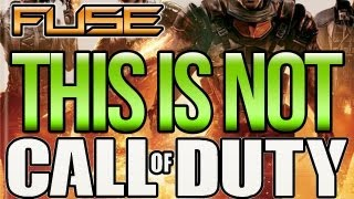 "THIS IS NOT CALL OF DUTY: ""FUSE"" Exclusive Gameplay First Look - Co-op Shooter (Xbox 360 / PS3)"