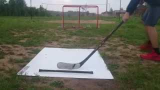 Хоккей и зимой и летом. Хоккейная доска / Hockey board