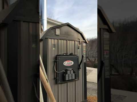 Central boiler outdoor wood furnace