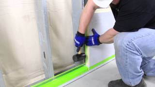 installing insulation panels continuous insulation