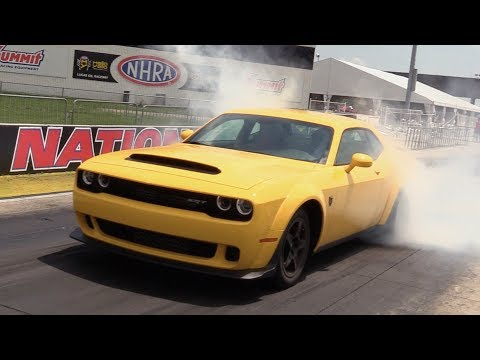 2018 Dodge Challenger SRT Demon: Start Up, Road Test & In De