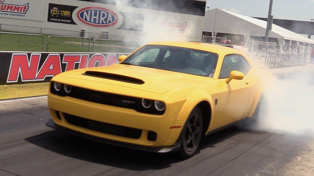 Dodge Challenger Srt Demon Start Up Road Test In Depth Review