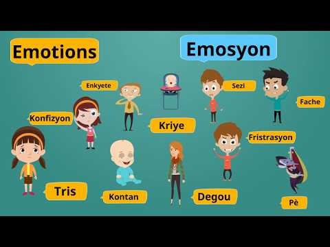 Emotions in Haitian Creole