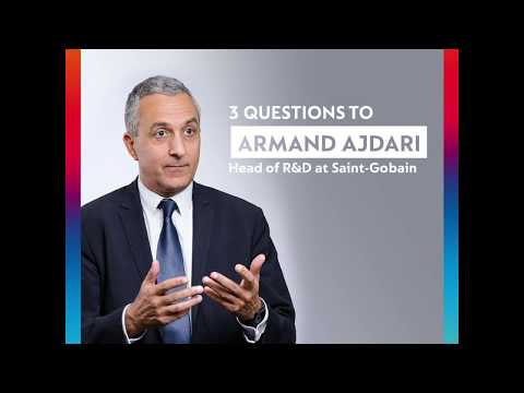 #SaintGobainWithYou: Armand Ajdari, Head of R&D at #SaintGobain