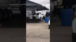 SHAKE N' BAKE WARMING UP HIS CAR IN Roswell Nm