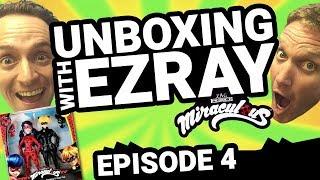 Miraculous Ladybug | #EZRAY Toy Unboxing Ep. 04 | Tales of Ladybug & Cat Noir