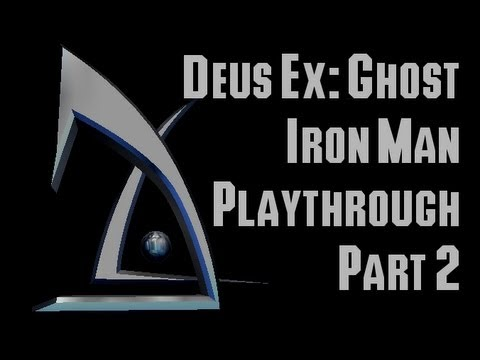 Deus Ex: Ghost Iron Man Playthrough part 2: Castle Clinton and Hell's Kitchen