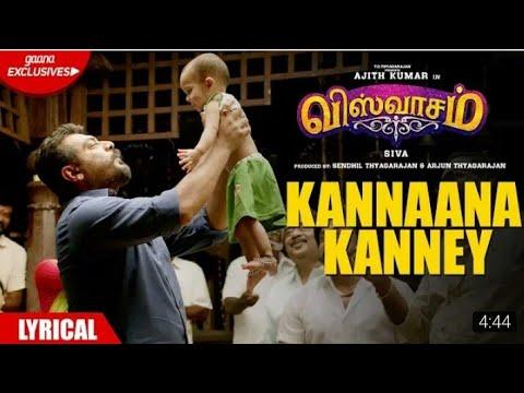 kannana-kanne-(sid-sriram)---viswasam- -lyrical-song- -ajithkumar- -nayanthara- -siva- -2019