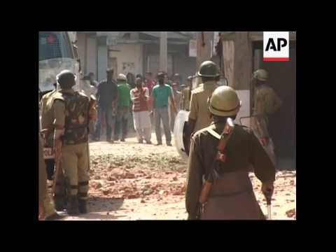 Rubber bullets, tear gas fired during separatist demo