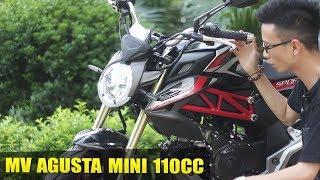 MV Agusta Mini 110cc : đẹp và ngầu hơn cả Ducati Monster Mini