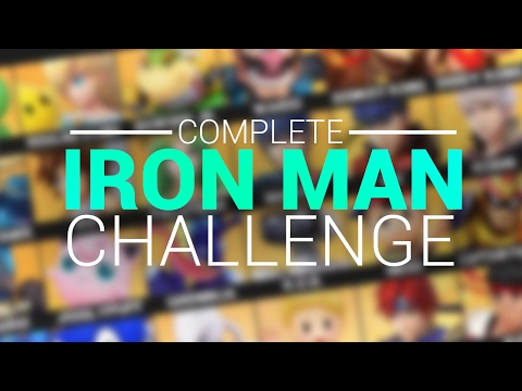 Win With EVERY Character In The Game? - COMPLETE IRON MAN CHALLENGE - ZeRo (Super Smash Bros Wii U)
