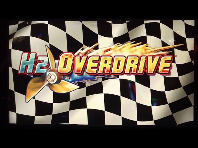 H2 OVERDRIVE! Arcade Game! Temple of Flume Track (HYDRO THUNDER 2)