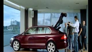 Реклама Шкода Суперб (Skoda Superb) 2(http://evropaavto.info - приобрести Skoda Superb у официального дилера Шкода в Украине автосалоне