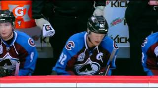 Roy Pulls Goalie with 10 mins left - Landeskog and MacKinnon Score 1:36 Apart