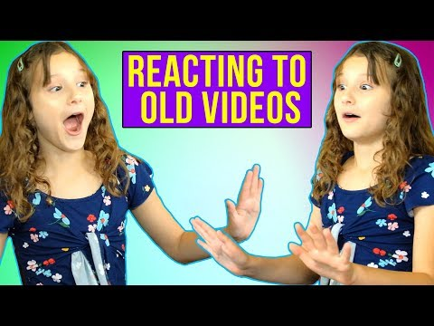Reacting to Old Videos | Hayley LeBlanc