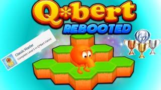 Q*bert Rebooted PS4 Classic Master Trophy