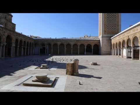 Tunisie Tunis Mosquée Zitouna / Tunisia Tunis Zaytuna Mosque