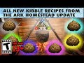 How to Make New Kibble on Ark: All New Kibble Recipes from the Ark Homestead Update
