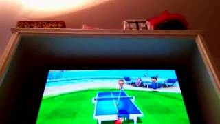 Let's play wii sports resort - table tennis part 6